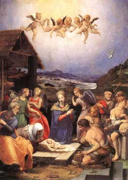 Bronzino,Agnolo/Adoration of the Shepherds